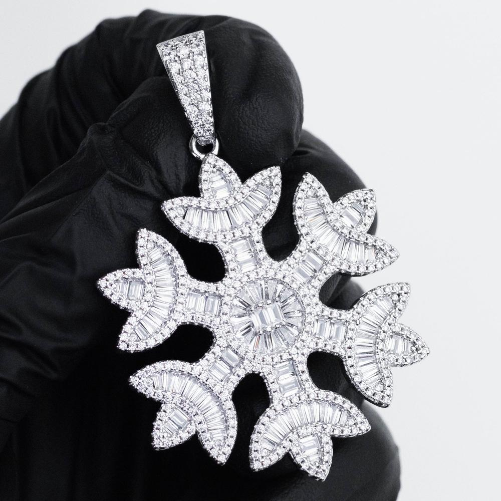 Premium Baguette Snowflake - (3 Color Options)