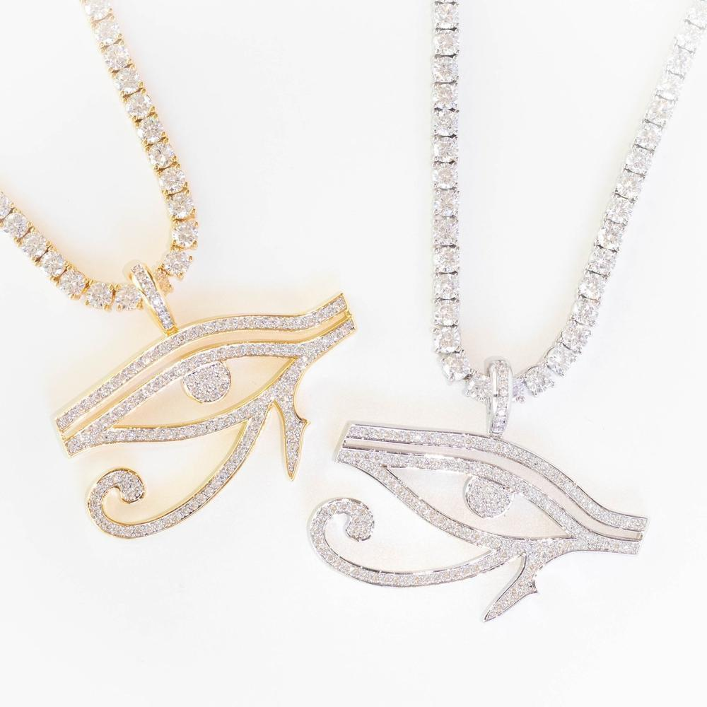Premium Iced Eye Of Horus - (2 Color Options)