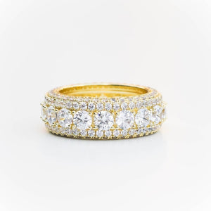 Premium Iced Layered Ring - (2 Color Options)