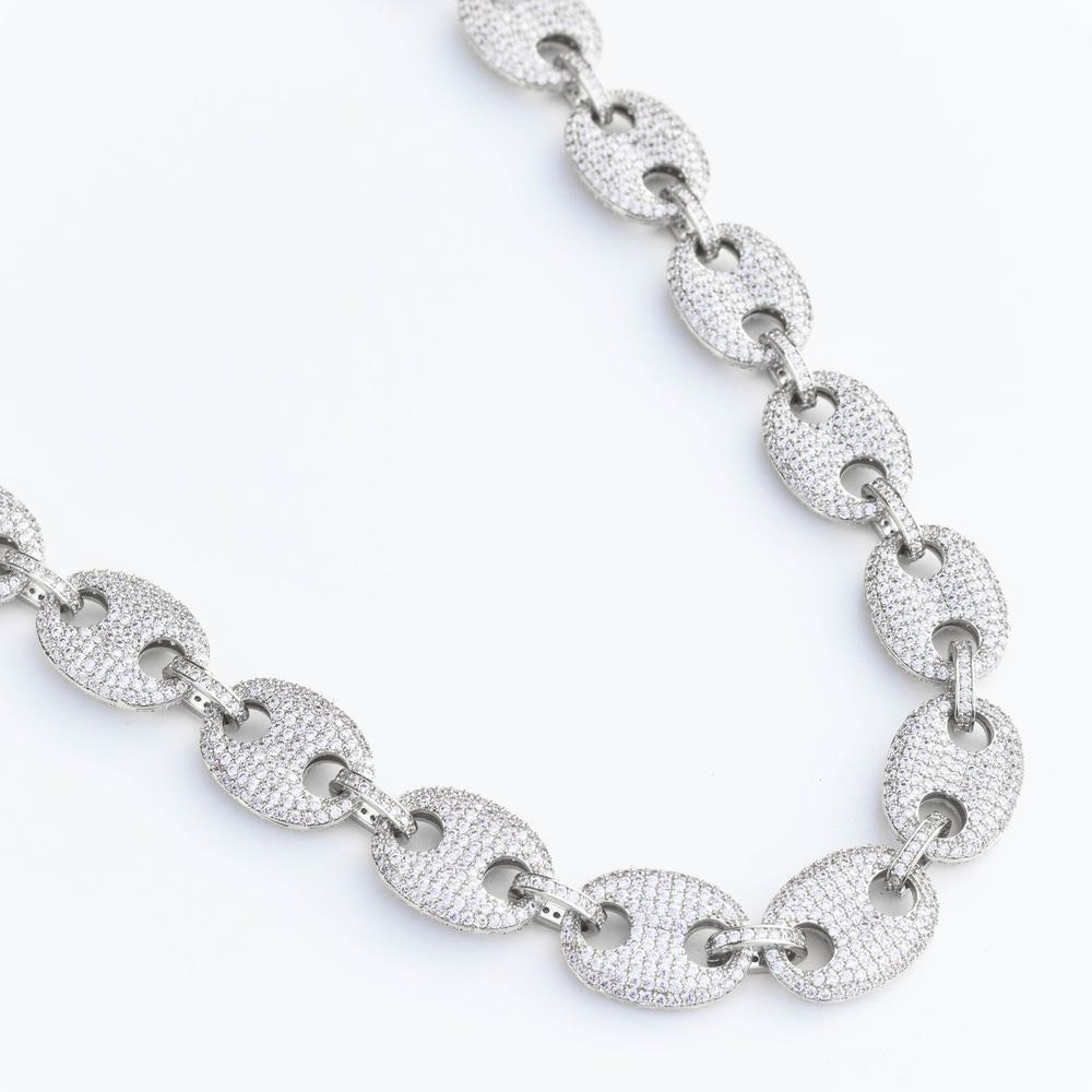 Premium Iced Mariner Link Chain - (2 Color Options) *SALE*