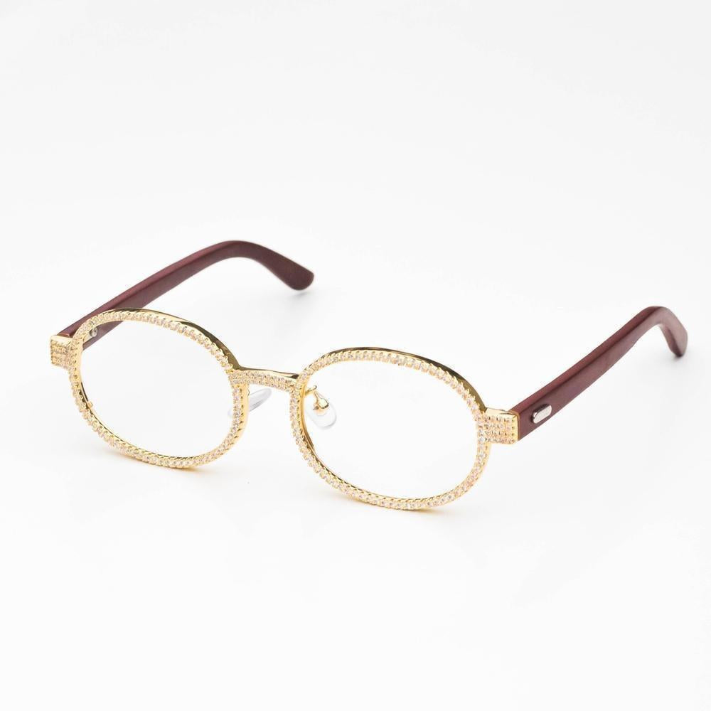 Vintage Iced Glasses - (2 Color Options)