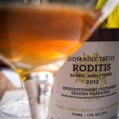 Tatsis Winery Roditis Unfiltered - barrel aged 3 years - 2012