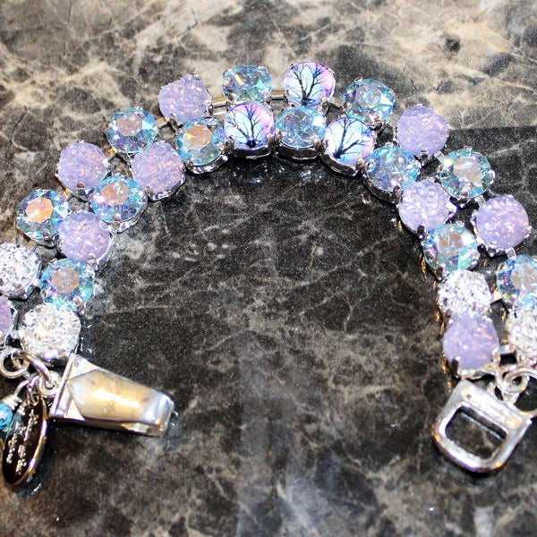 Ladybugfeet Jewelry Designs:Tree of Life Purple Paradise Crystal Rhinestone Bracelet