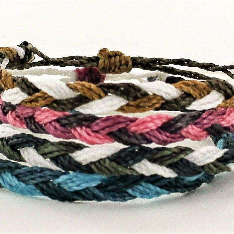 Ladybugfeet Jewelry Designs:Braided Wax Cord Friendship Bracelet
