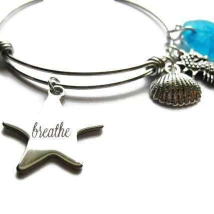 Ladybugfeet Jewelry Designs:BREATHE Beach bracelet