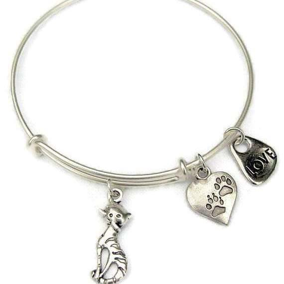Ladybugfeet Jewelry Designs:Cat Lover Bracelet