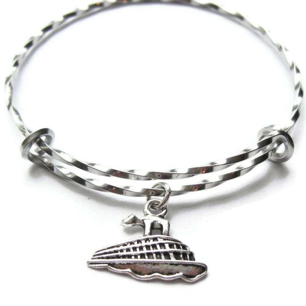 Ladybugfeet Jewelry Designs:CRUISE SHIP bangle bracelet