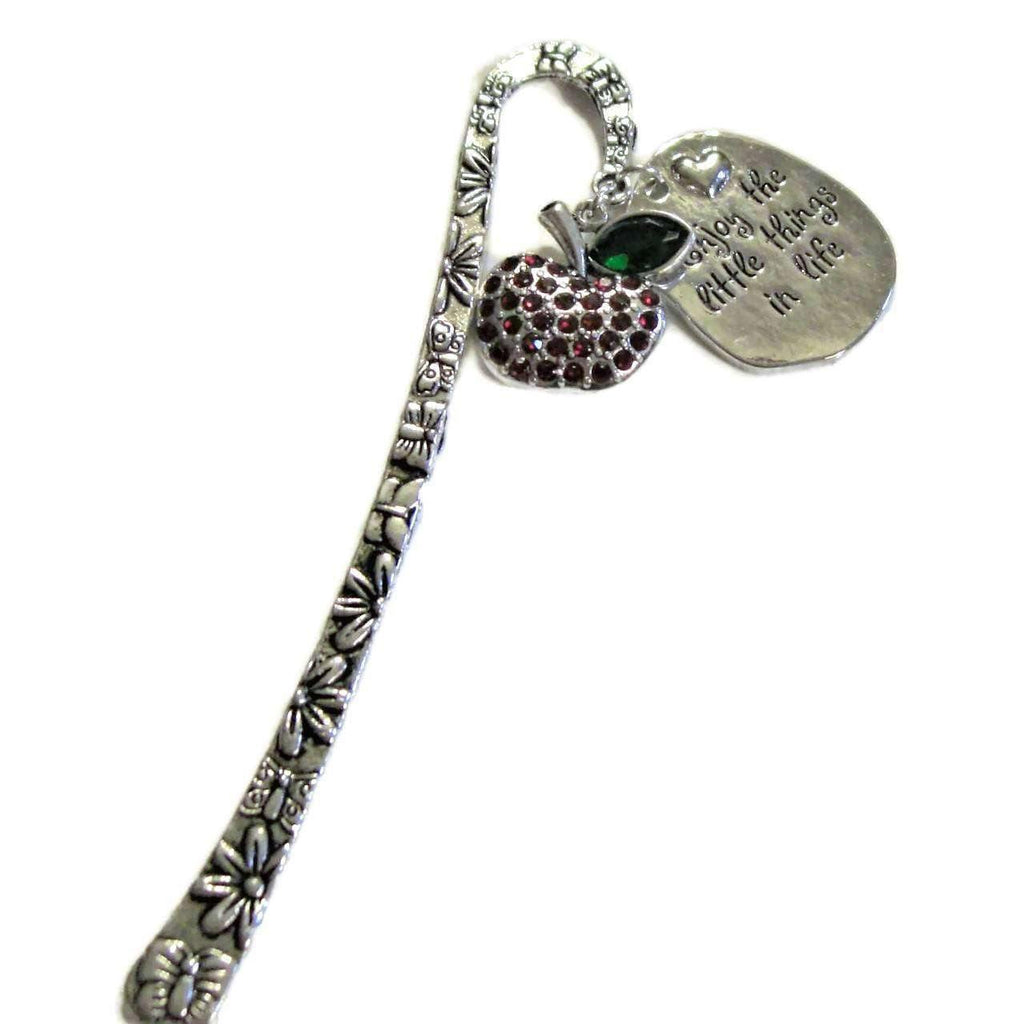 Ladybugfeet Jewelry Designs:ENJOY the little things in Life Apple bookmark