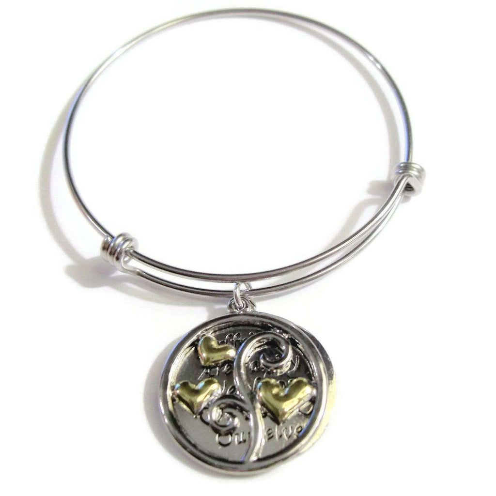 Ladybugfeet Jewelry Designs:GIRLFRIENDS are Family we Choose for Ourselves BANGLE