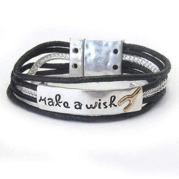 Ladybugfeet Jewelry Designs:Make a Wish bracelet