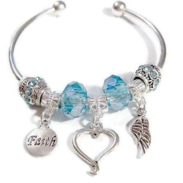 Ladybugfeet Jewelry Designs:Memory Bracelet, Euro Cuff Bangle
