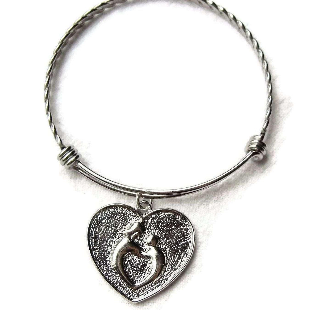 MOTHER and CHILD bangle bracelet
