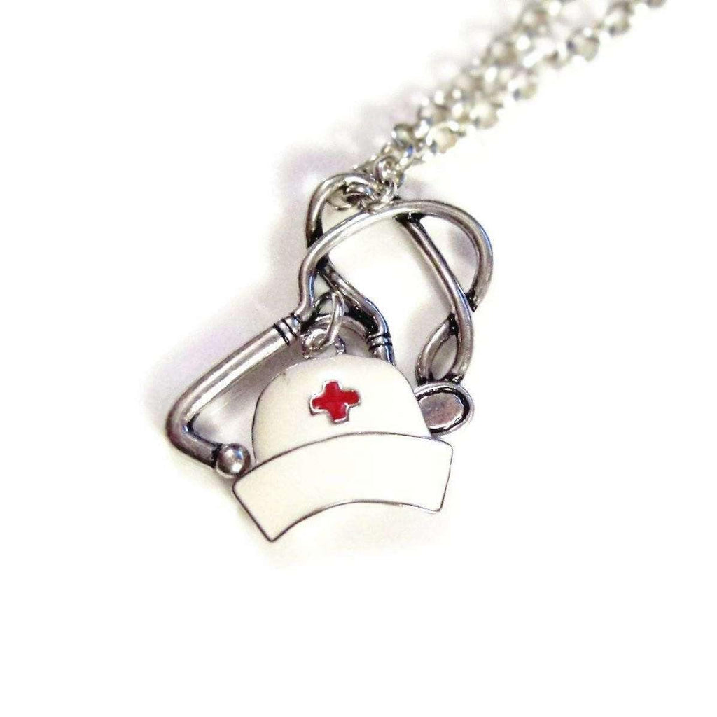 Ladybugfeet Jewelry Designs:Nurse, CNA, RN, LPN, Nurse Practitioner, Medical Asst,Veterinary Assistant/Technician NECKLACE