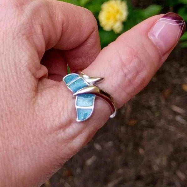 Ladybugfeet Jewelry Designs:Whale Tail Ring, Mermaid Tail Ring, Dolphin Tail Ring