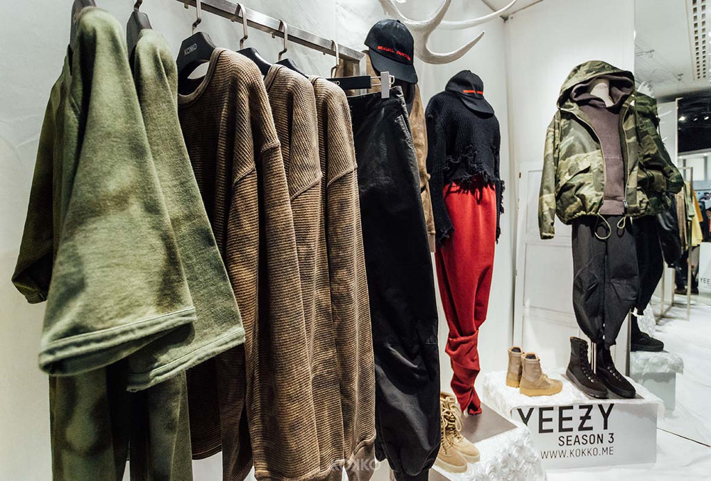 6c2115b60b1d5 Experience Kanye West s Yeezy Season 3 Paris Showroom Replica in Vancouver  Yeezy  Season 3 Now Available at KOKKO