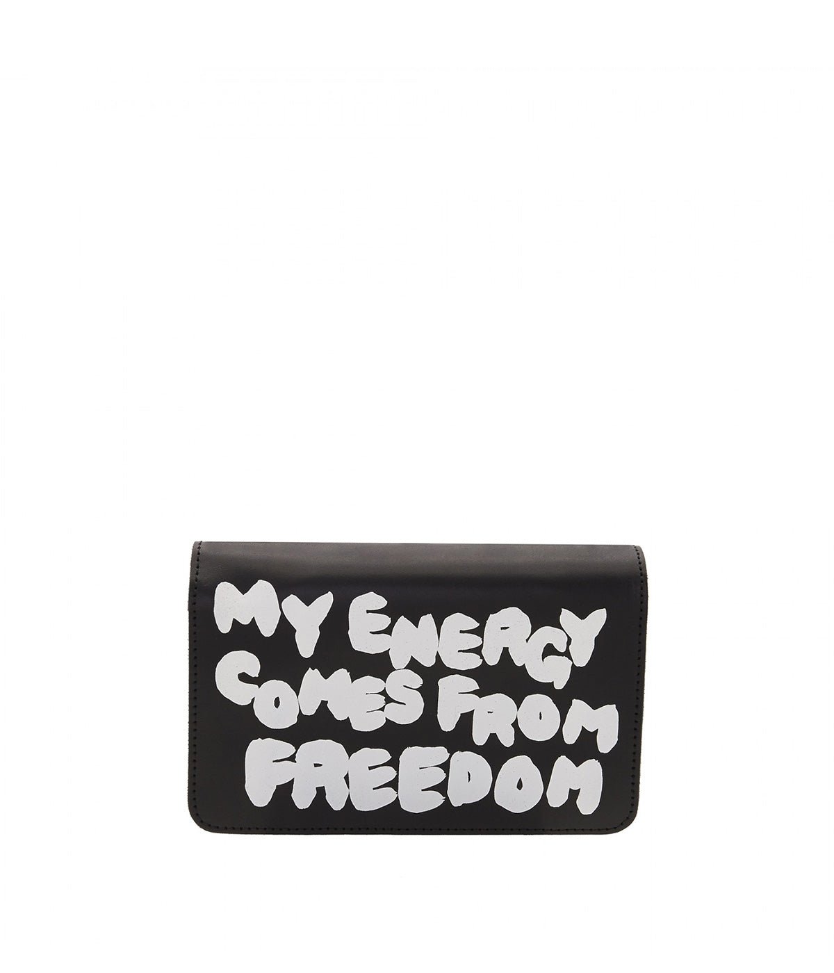 Black Message Wallet