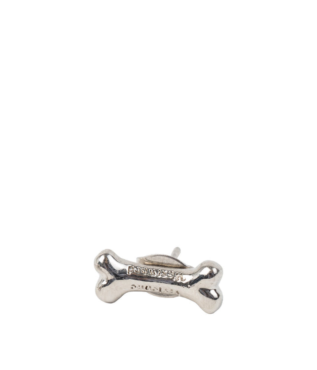 Silver Bone Earring- Single