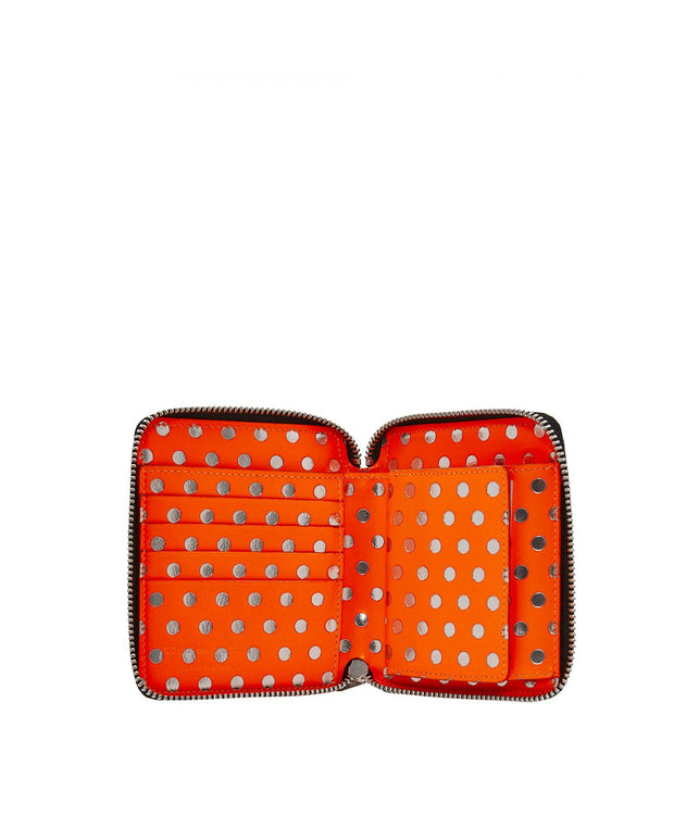 Orange Polka Dot Wallet