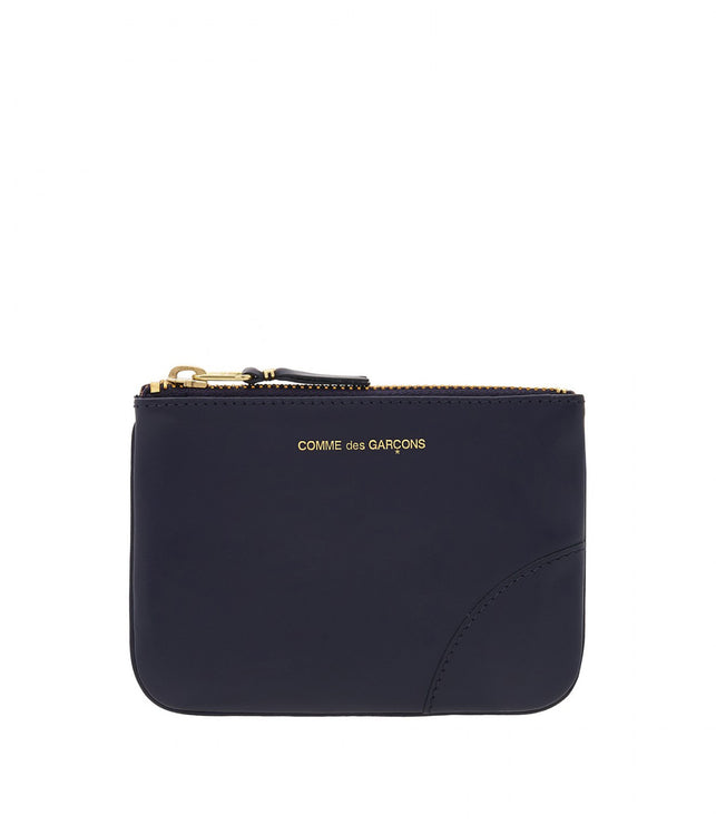 Navy Zippered Wallet
