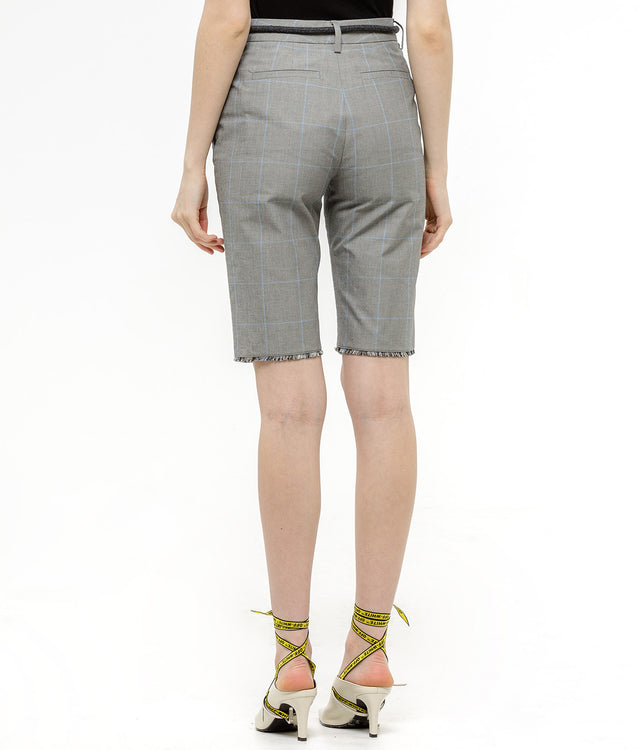 Grey Formal Cycling Shorts