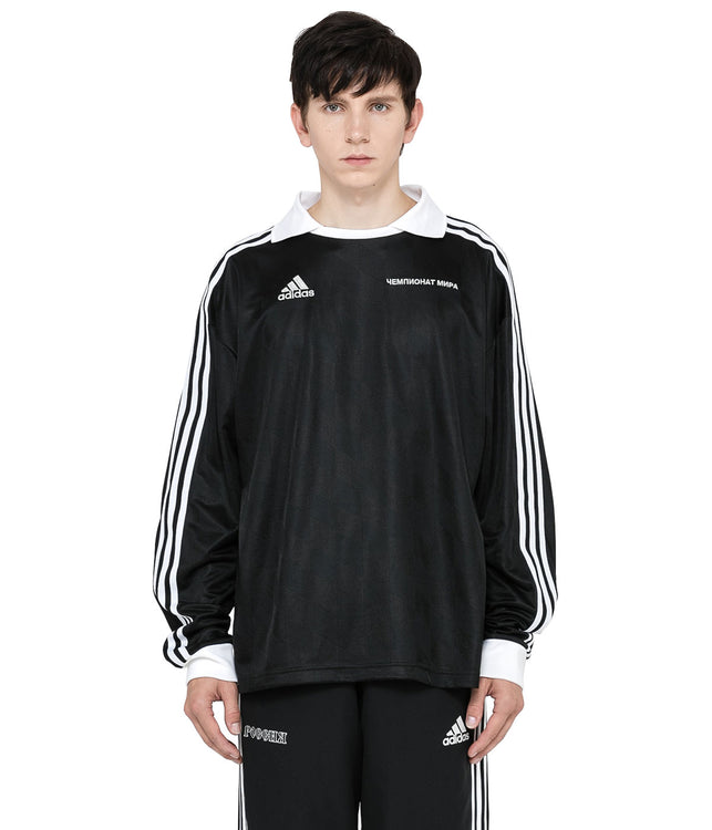 x adidas Black Long Sleeve Jersey
