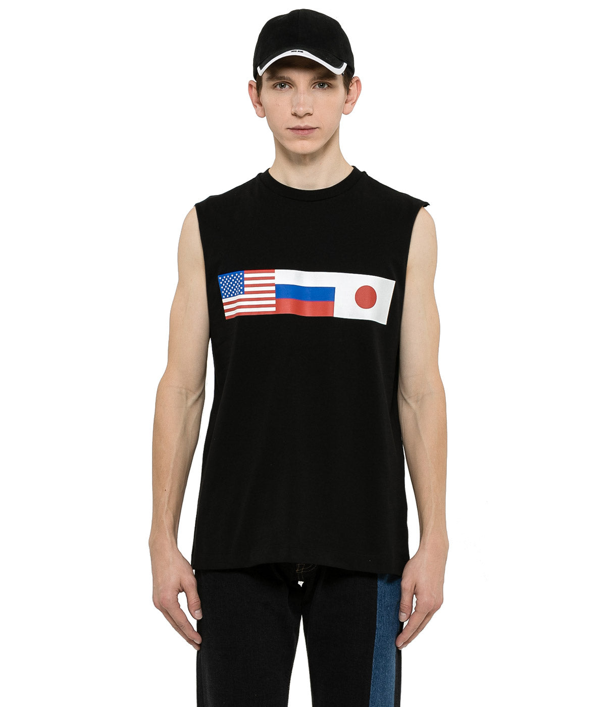 Black Flags Tank Top