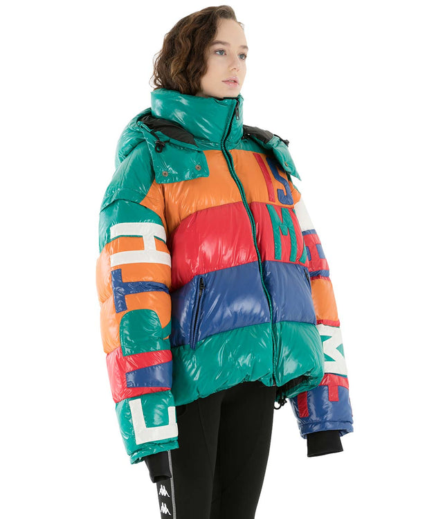 Multi Coloured Duck Down Jacket