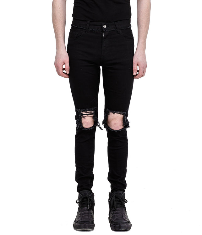 Black Signature Skinny Denim Jeans