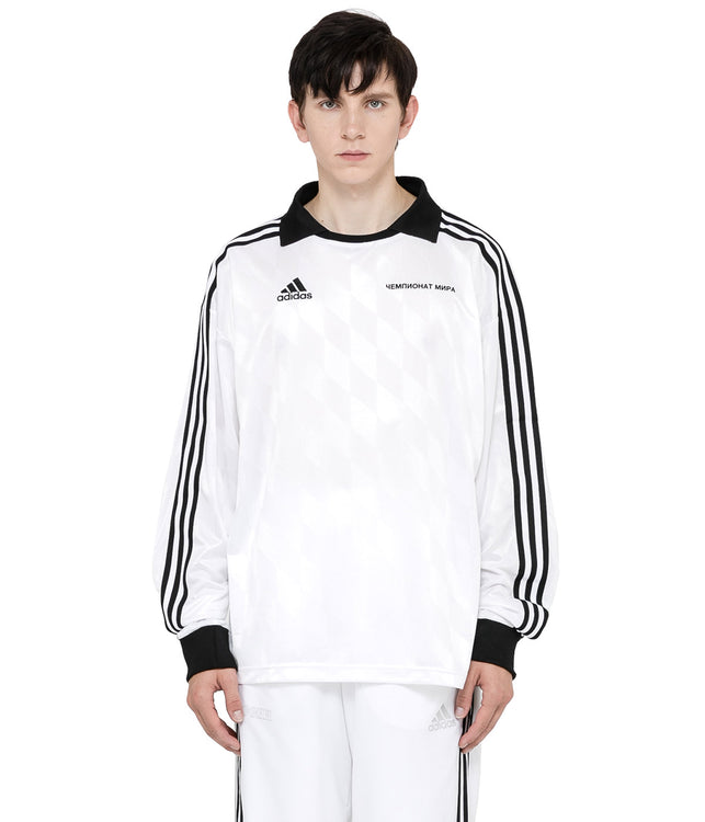 x adidas White Long Sleeve Jersey
