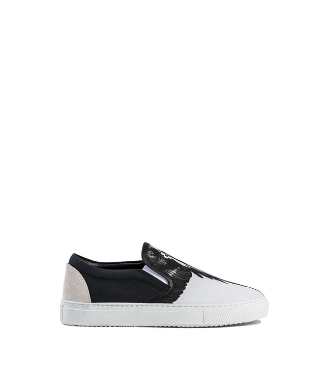 Black & White Slip On Sneakers