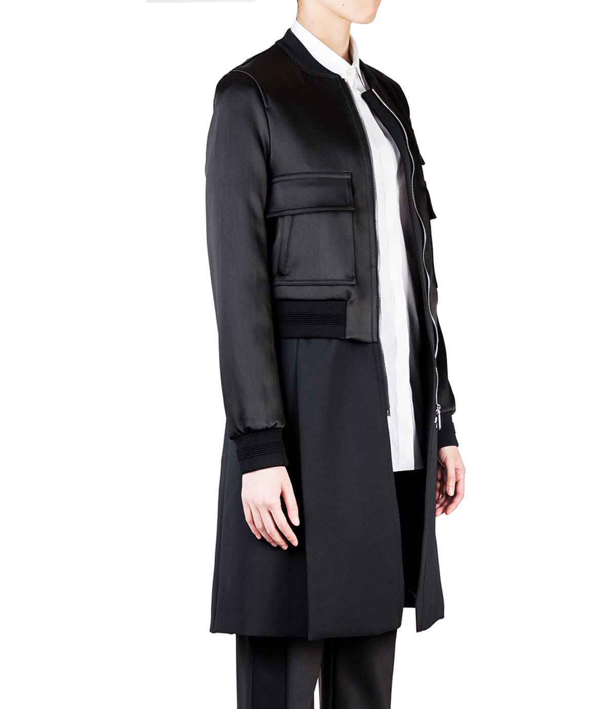 Hybrid Coat with Bomber