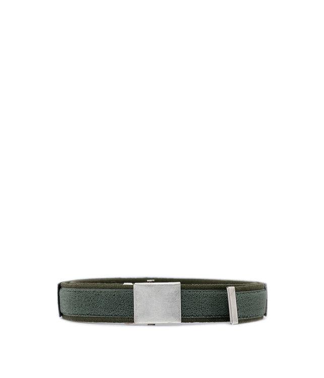 Green Velcro Tape Belt