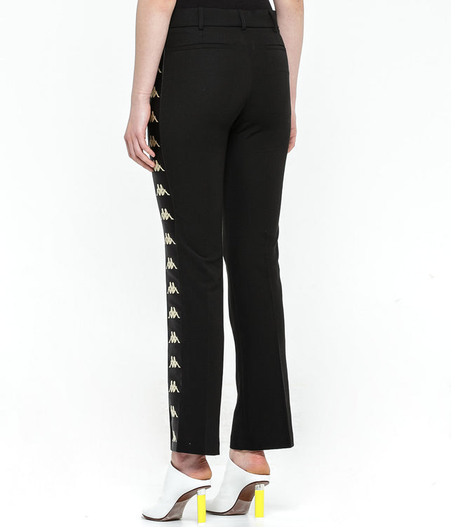 Black Side Tape Trousers
