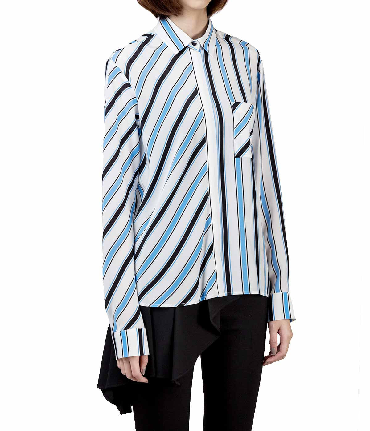 Striped Silk Blouse