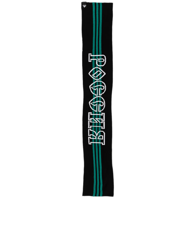 x adidas Black Striped Scarf