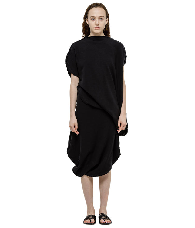Black Cloud Jersey Dress