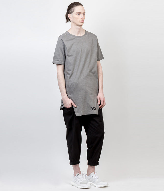 Grey Oil Washed T-Shirt
