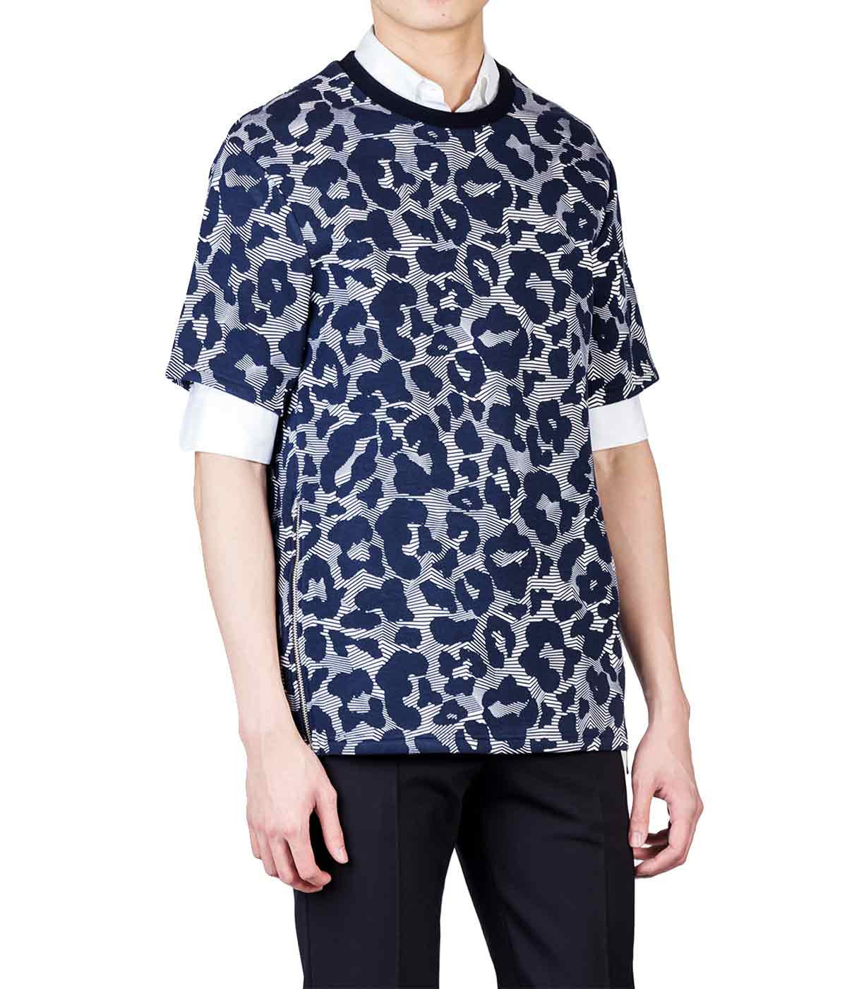 Bonded Neoprene Animal Print Top