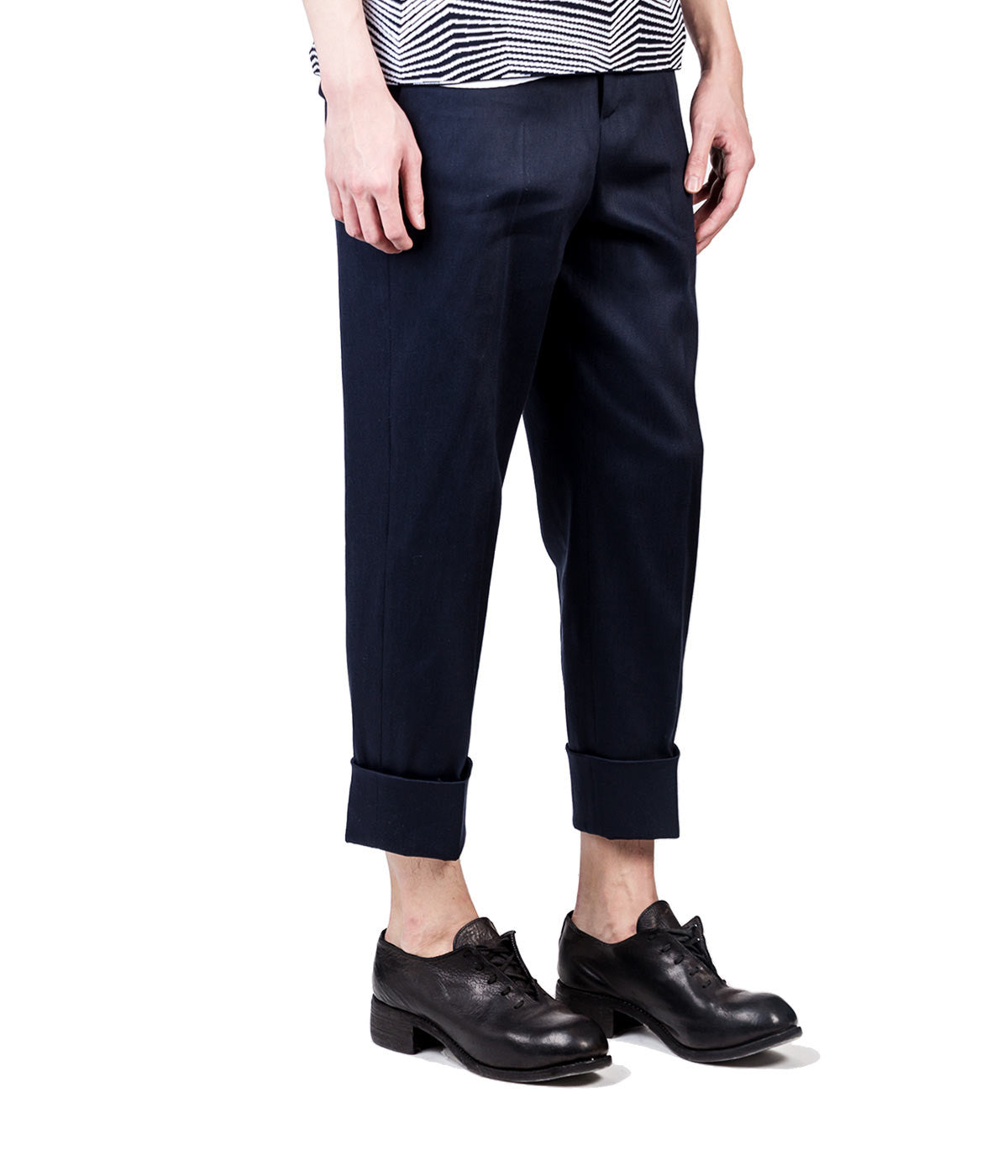 Slouchy Fit Twill Trousers