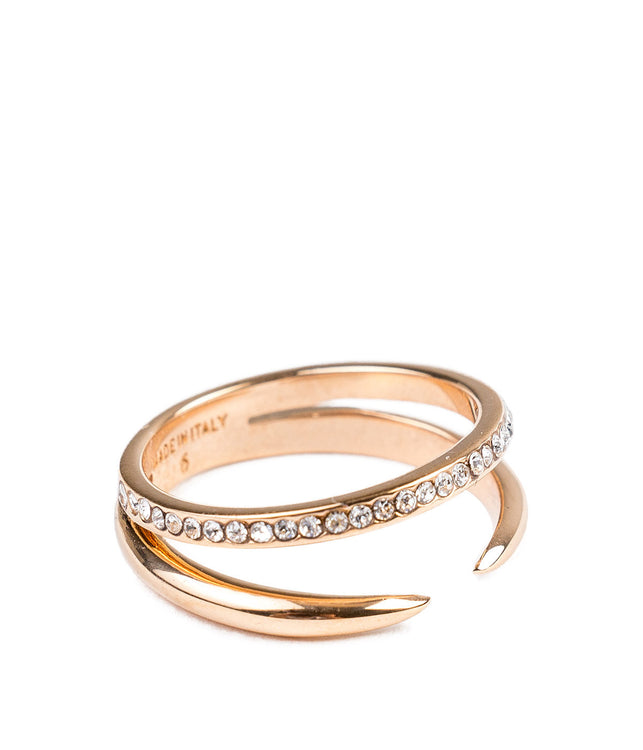 Rose Gold Serpent Ring