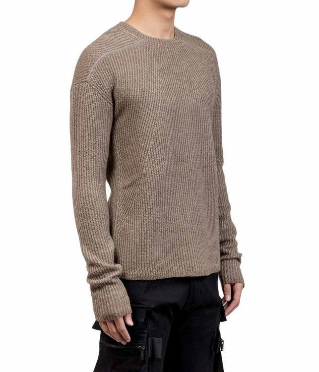 Dust Biker Level Round Neck Sweater
