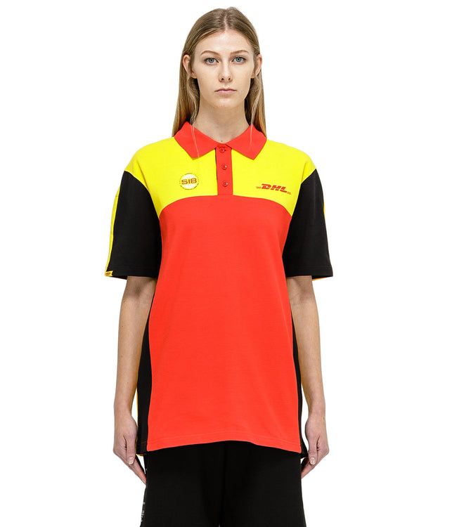Yellow DHL Polo T-Shirt