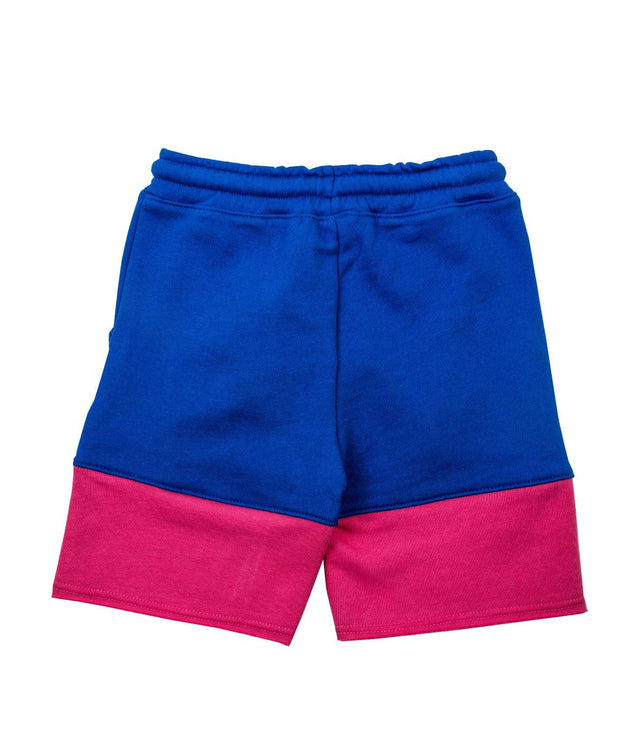 Blue Cutoff Jersey Shorts