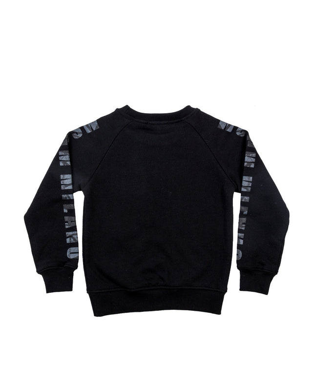 Black Pullover Sweatshirt