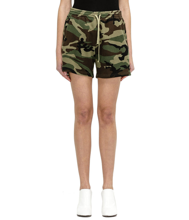 Military Camouflage Shorts