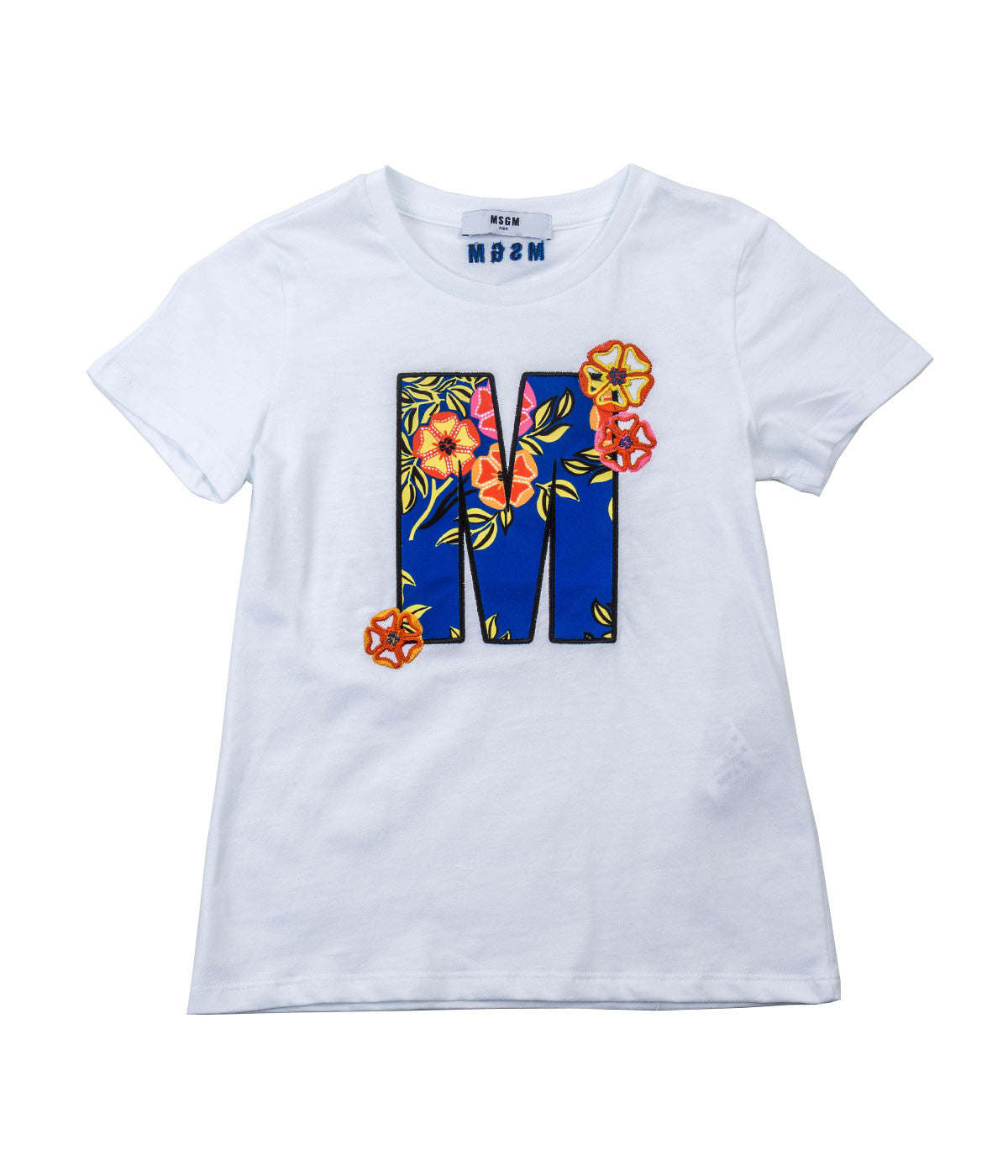 White Embroidery T-Shirt