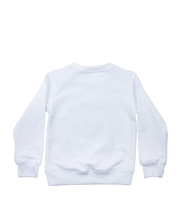 White Logo Sweatshirt