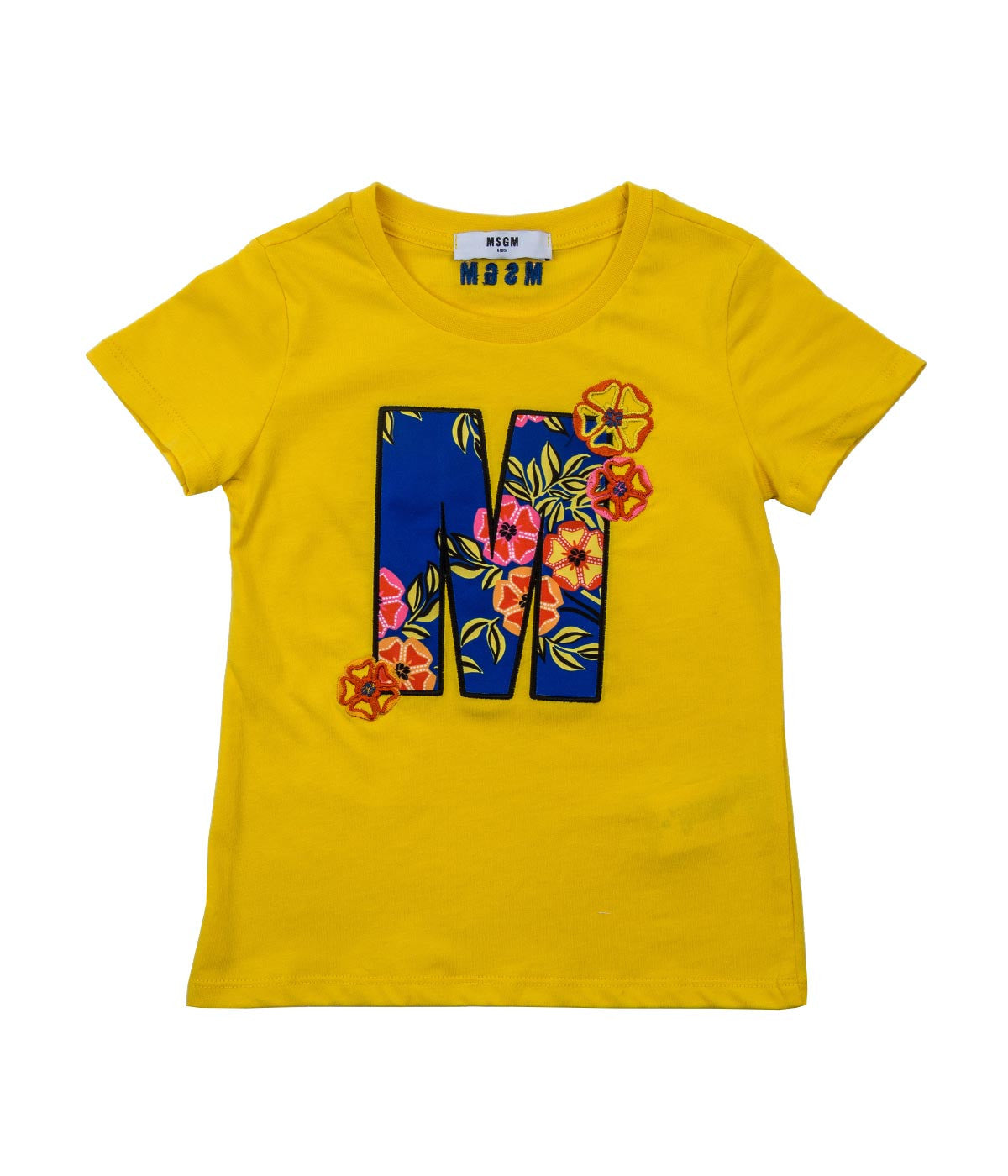Yellow Embroidery T-Shirt