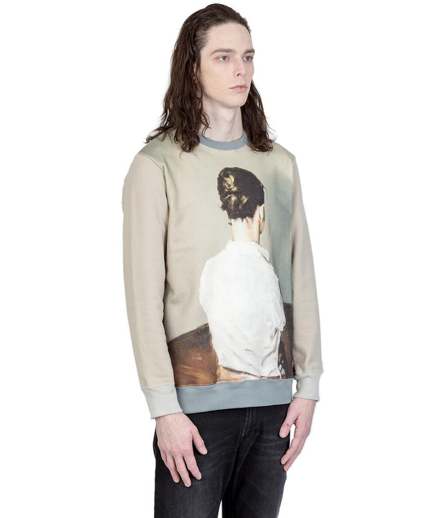Multicolor Borremans Printed Sweatshirt