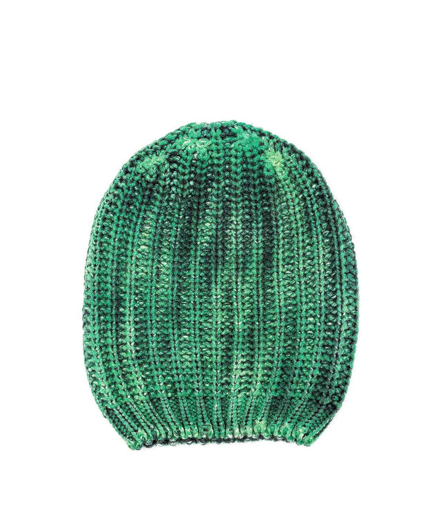Thick Knit Green Toque